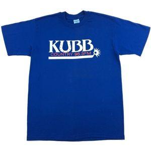 Vintage KUBB Country 96.3FM Radio Station T-Shirt